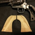 Colt SAA U.S. Marshals Commemorative Limited Edition with DIY wooden grips