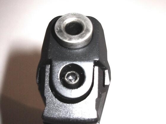 H&K P30 Mündungsschoner überarbeitet.