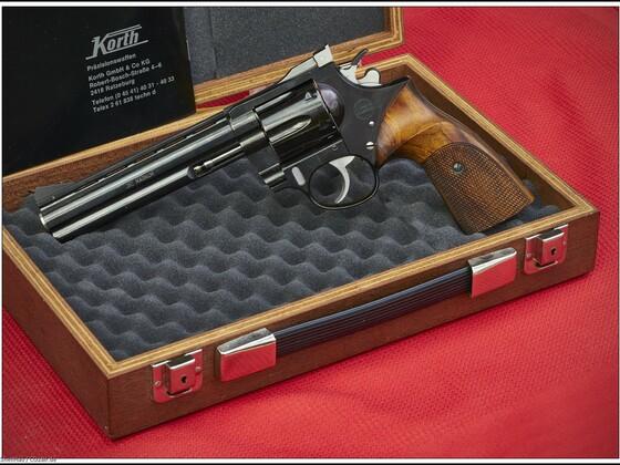 """Korth Revolver 6"""", 357 Mag."""