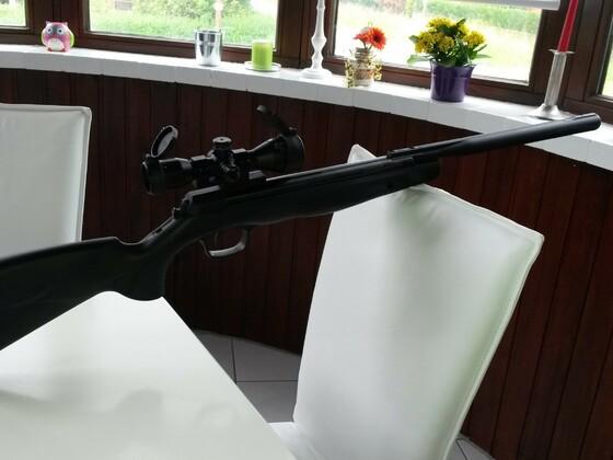 Browning x-blade 4,5mm 7,5J mit Walther mini DC 4x32