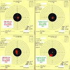 Munitionstest, FWB300S, 10-25m, benchrested, 01.07.2012 (1)