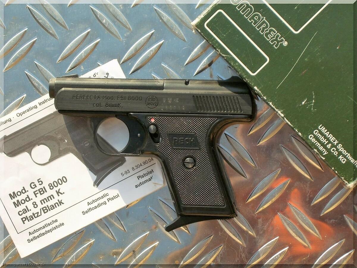 Reck FBI 8000 8mm Knall Taschenwaffe