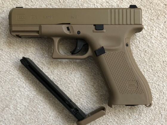 Glock 19x Non BlowBack