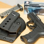 Die Walther PK380 und das passende Schnellzieh-Holster GL-2 ND von Fobus