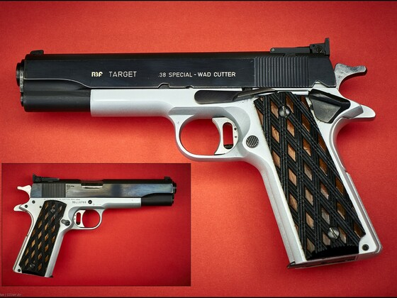 RBF / Colt  Target im Kaliber 38 Spezial WC