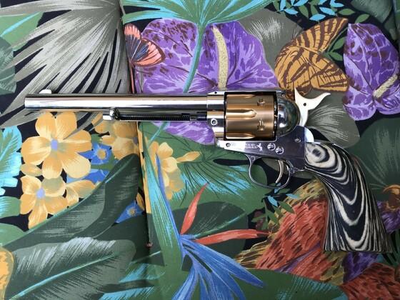Griffschalen aus Makassar Ebenholz für Colt SAA