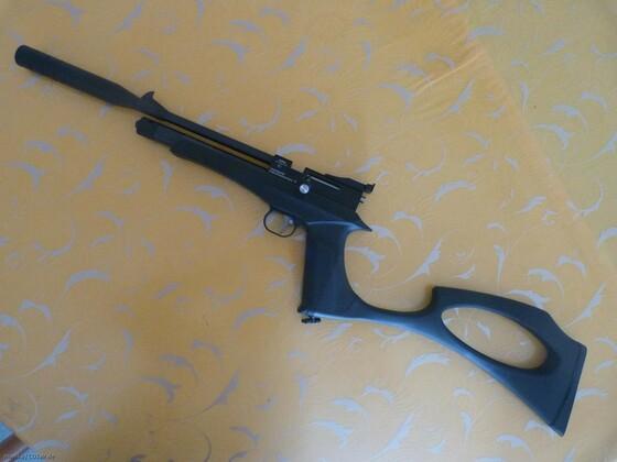 Diana Chaser Pistolenkarabiner + Schalldämpfer