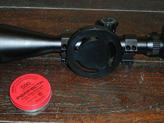 Zielfernrohr 10-40 x 60 mit Paralaxenrad