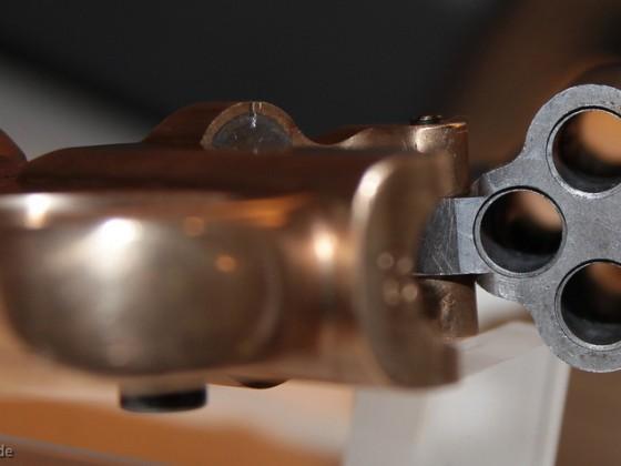 Detailfotos der Filmwaffe