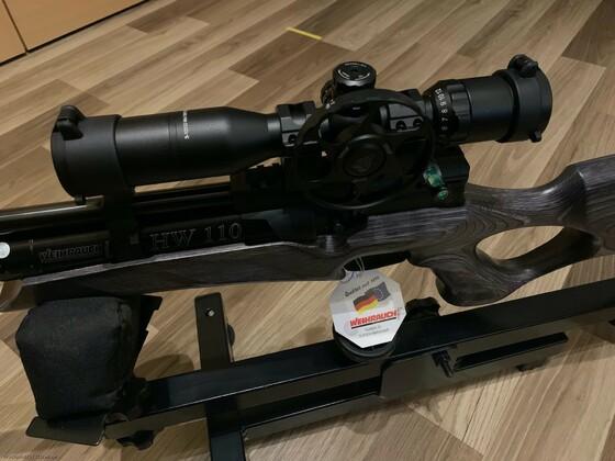 HW110 TK + UTG Bug Buster 3-12x32 SF
