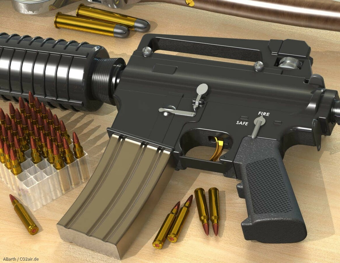 M4A1 Closeup