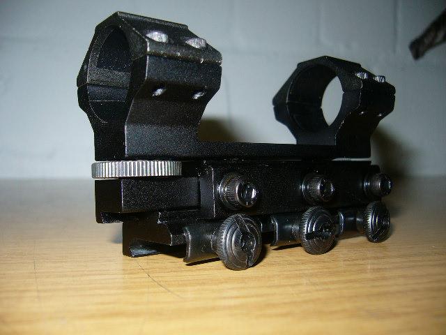 Luftgewehr zielfernrohr walther compact absehen mildot