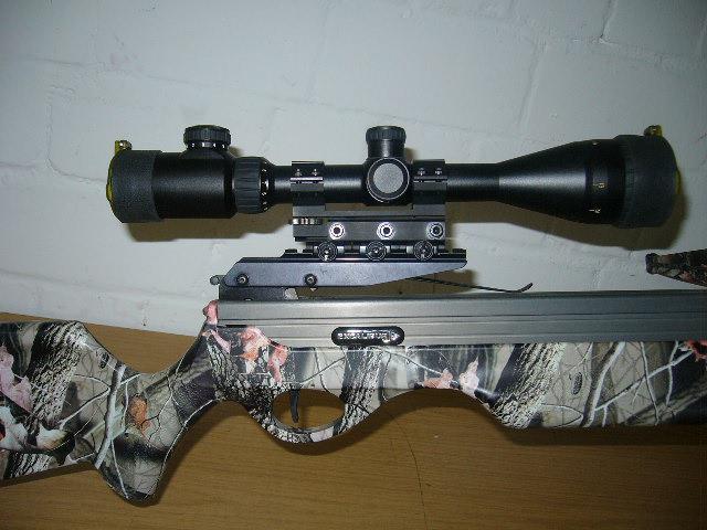 Montage: nikko stirling airgun mount zielfernrohr luftgewehr kk